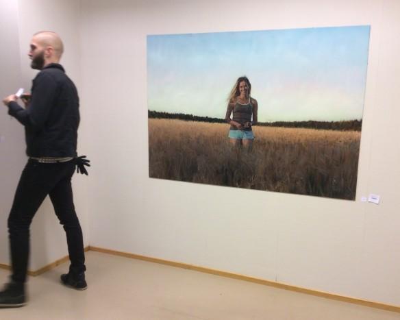 """""""Se valo jota seuraan"""" ja taiteilija Sampsa Sarparanta"""