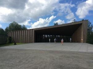 Sisäänkäynti Gösta-museoon